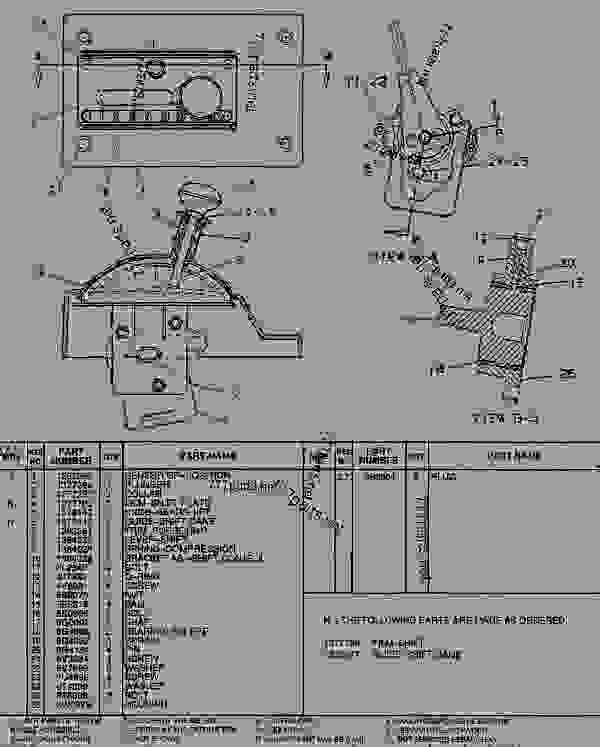 Parts scheme 1378429 CONTROL GROUP-TRANSMISSION  - ARTICULATED DUMP TRUCK Caterpillar D350E - SUPPLEMENT FOR TRUCKS WITH 3Z-5748 OR 3Z-5766 MODIFICATIONS 9LR00001-UP (MACHINE) POWER TRAIN | 777parts