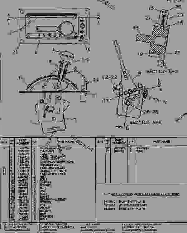 Parts scheme 1412907 CONTROL GROUP-TRANSMISSION  - ARTICULATED DUMP TRUCK Caterpillar D400E - SUPPLEMENT FOR TRUCKS WITH 3Z-5748 OR 3Z-5766 MODIFICATIONS 2YR00001-UP (MACHINE) POWER TRAIN | 777parts