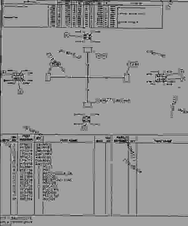 Parts scheme 1534109 HARNESS AS.  - EXCAVATOR Caterpillar 330B - 330 B EXCAVATOR WITH FIELD INSTALLED COMBINED/ROTATE FUNCTIO 8SR00001-UP (MACHINE) ELECTRICAL AND STARTING SYSTEM | 777parts