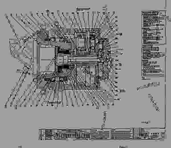 schematic - excavator caterpillar 350 l