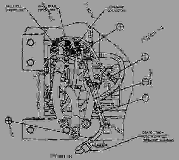 wiring group - track-type tractor caterpillar d6k