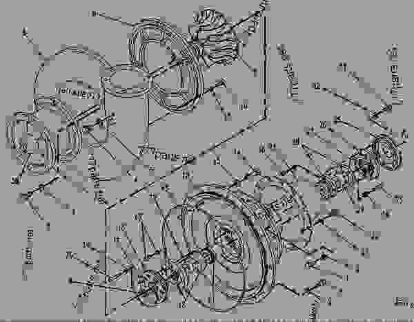 Parts scheme 7E9682 TURBOCHARGER GROUP   - ENGINE - INDUSTRIAL Caterpillar 3608 - 3608 GENERATOR, INDUSTRIAL, LOCOMOTIVE AND MARINE January 1980 to December 1997 6MC00001-UP AIR INLET AND EXHAUST SYSTEM | 777parts