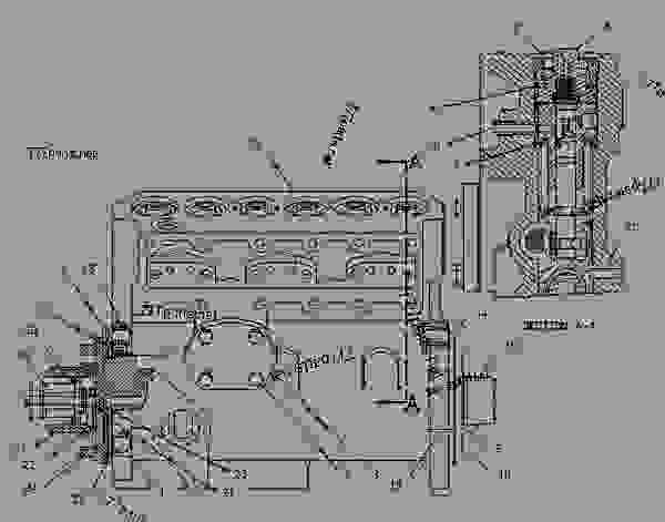 Parts scheme 1312791 PUMP GROUP-FUEL INJECTION   - ENGINE - GENERATOR SET Caterpillar 3306B - 3306B Generator Set B8D00001-UP FUEL SYSTEM | 777parts