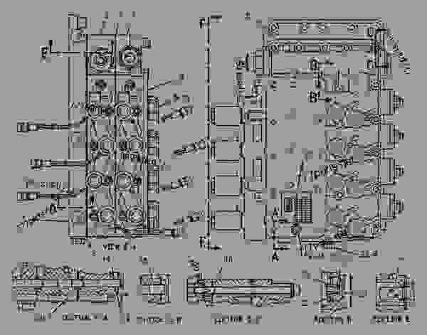 cat 3406c engine diagram