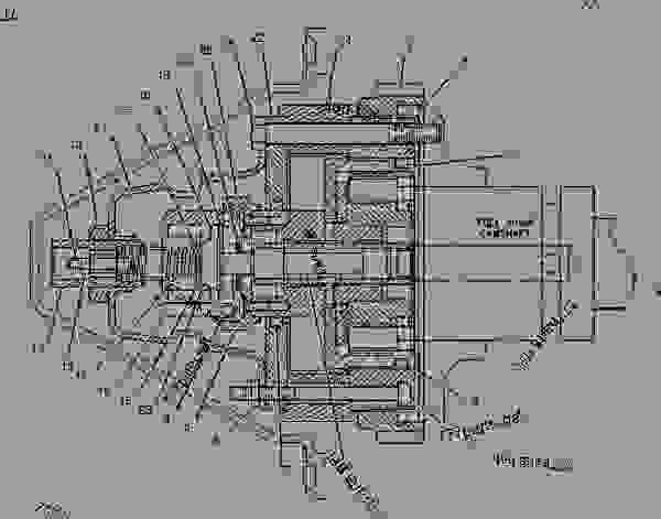 3406 cat engine injection pump diagram