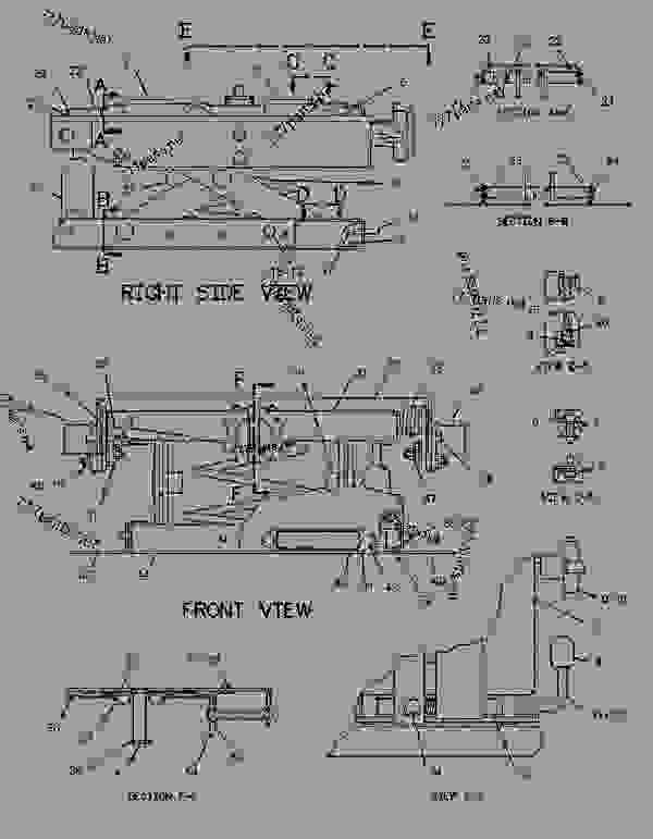 Caterpillar 6P-6229 Duct Assembly