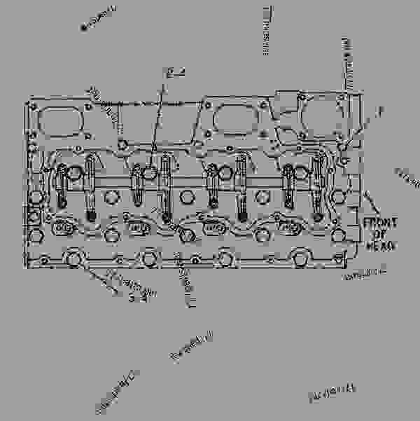Parts scheme 1W3802 FASTENER GROUP-FRONT HOUSING  - ENGINE - GENERATOR SET Caterpillar 3304B - 3304B(XQ125) Rental Generator Set DED00001-UP BASIC ENGINE | 777parts