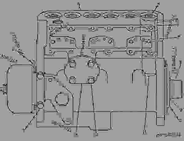Parts scheme 7C2605  PUMP GROUP-FUEL INJECTION  - ENGINE - GENERATOR SET Caterpillar 3306 - 3306 Generator Set Engine 5JC00001-UP FUEL SYSTEM | 777parts