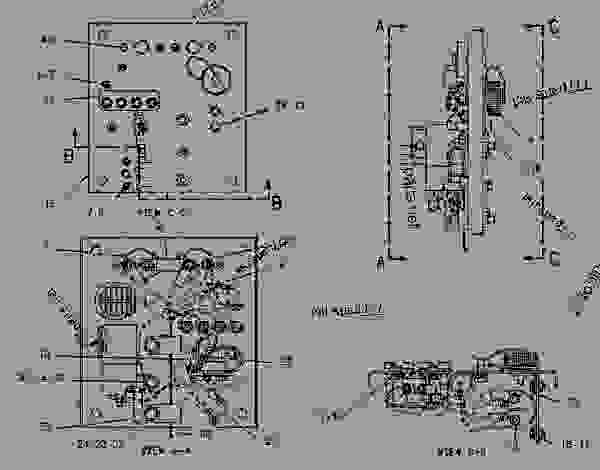 Parts scheme 1070006 WIRING GROUP-RELAY PANEL   - EARTHMOVING COMPACTOR Caterpillar 816F - 816F COMPACTOR 5FN00001-UP (MACHINE) ELECTRICAL AND STARTING SYSTEM | 777parts