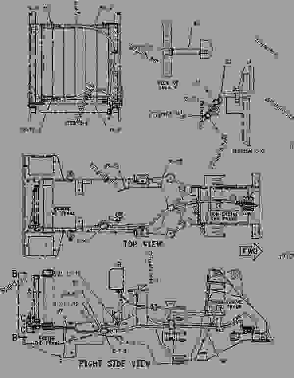 1066511 lines group-hydraulic oil cooler - wheel-type ... c 15 cat engine cooling diagram