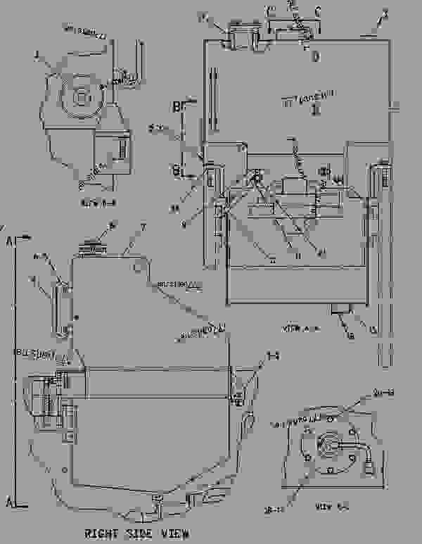 Parts scheme 1213053 TANK GROUP-FUEL   - EARTHMOVING COMPACTOR Caterpillar 816F - 816F COMPACTOR 5FN00001-UP (MACHINE) FUEL SYSTEM | 777parts