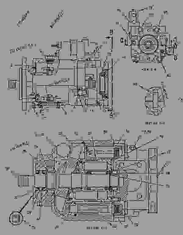 Parts scheme 1129713 STEERING COLUMN GROUP   - EARTHMOVING COMPACTOR Caterpillar 825G II - 825G II Soil Compactor AXB00001-UP (MACHINE) POWERED BY 3406 Engine STEERING SYSTEM | 777parts