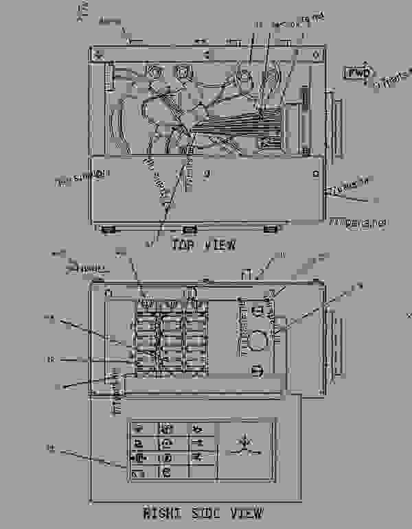 1286861 Wiring Group Fuse Box Wheel Type Skidder Caterpillar 525 - Wiring Diagram
