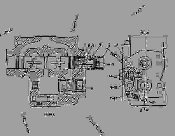 Parts scheme 9T8818 VALVE GROUP-STEERING   - EARTHMOVING COMPACTOR Caterpillar 815B - 815B Soil Compactor 17Z00001-UP (MACHINE) POWERED BY 3306 Engine STEERING SYSTEM | 777parts