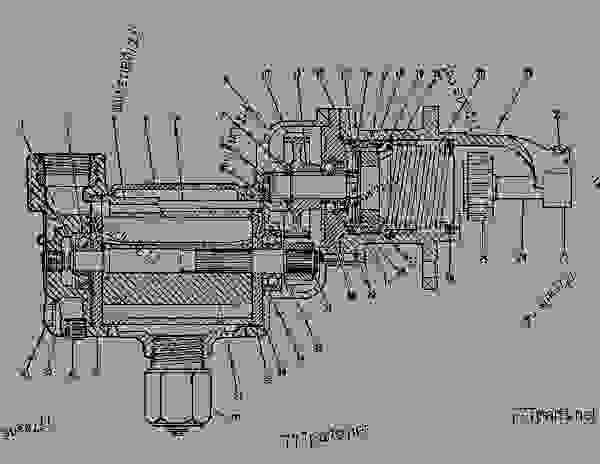 Parts scheme 4N4370 STARTING MOTOR GROUP-AIR   - ENGINE - GENERATOR SET Caterpillar 3306 - 3306 Generator Set 85Z00001-03763 ELECTRICAL AND STARTING SYSTEM | 777parts