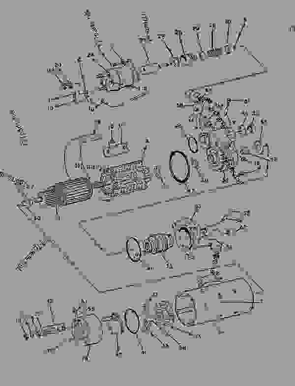 Parts scheme 9W0058 STARTING MOTOR GROUP-ELECTRIC   - ENGINE - GENERATOR SET Caterpillar 3306 - 3306 Generator Set 85Z00001-03763 ELECTRICAL AND STARTING SYSTEM | 777parts