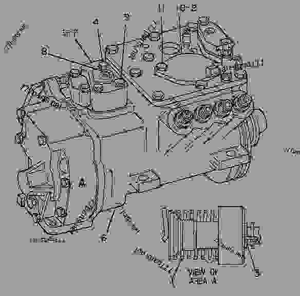 Parts scheme 7C9665 PUMP GROUP-GOV & FUEL INJ   - ENGINE - GENERATOR SET Caterpillar 3208 - 3208 Generator Set Engine 5YF00001-UP FUEL SYSTEM | 777parts