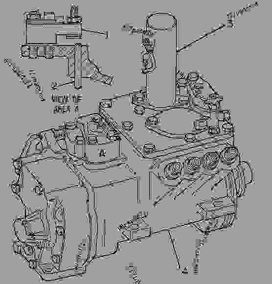 Parts scheme 9Y0841 PUMP GROUP-GOV & FUEL INJ   - ENGINE - GENERATOR SET Caterpillar 3208 - 3208 Generator Set Engine 5YF00001-UP FUEL SYSTEM | 777parts