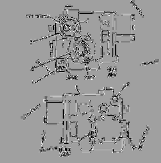 Parts scheme 9W0664  VALVE GROUP-MODULATING VALVE GP-MODULATING - CHALLENGER Caterpillar 75D - Challenger 75D Agricultural Tractor 5AR00001-UP (MACHINE) POWERED BY 3176C Engine DRAWBAR, THREE POINT HITCH AND PTO | 777parts