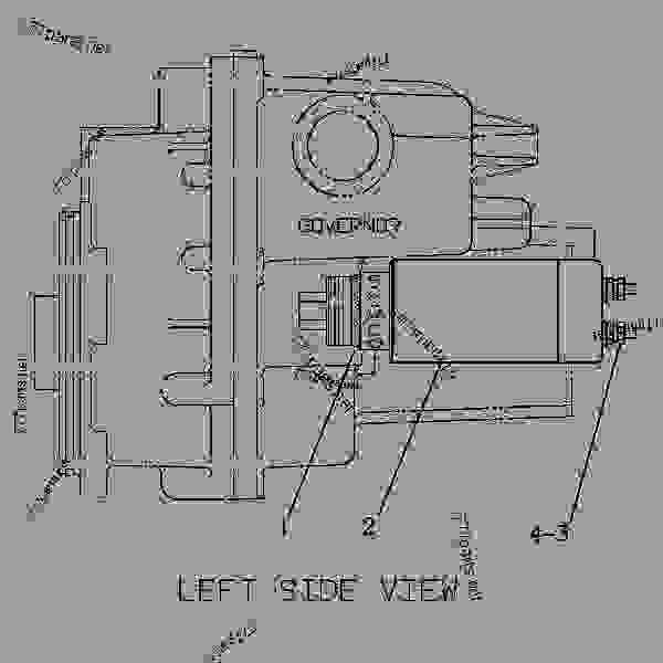 3116 cat engine fuel system diagram