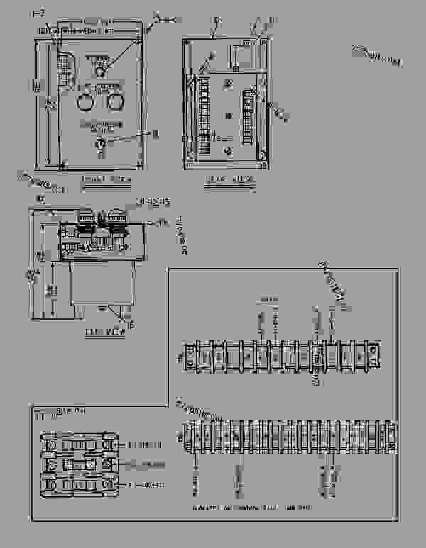 Parts scheme 4W8003 MODULE GROUP-SYNCHRONIZING LIGHTS   - ENGINE - GENERATOR SET Caterpillar 3306 - 3306 Generator Set Engine 5JC00001-UP OPERATOR STATION | 777parts