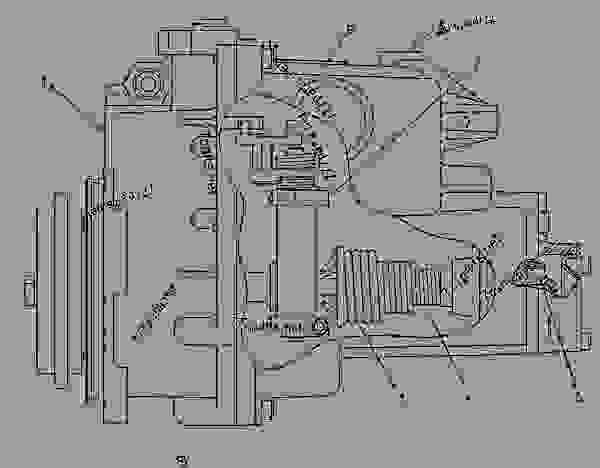 cat 3116 fuel system parts  cat  free engine image for