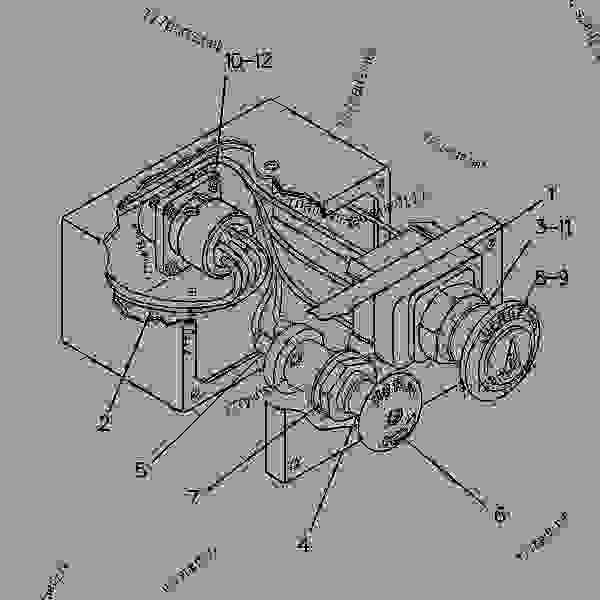 Parts scheme 2667227 ALTERNATOR GROUP-CHARGING   - COLD PLANER Caterpillar PR-450C - PR-450C Cold Planer 7PJ00001-UP (MACHINE) POWERED BY 3408 Engine ELECTRICAL AND STARTING SYSTEM | 777parts
