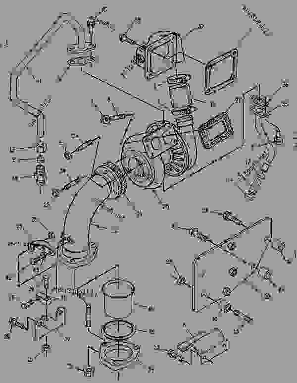 Parts scheme 1003715 MANIFOLD GROUP-INLET   - ENGINE - GENERATOR SET Caterpillar 3056 - 3056 Generator Set Engine 7AK00001-UP AIR INLET AND EXHAUST SYSTEM | 777parts