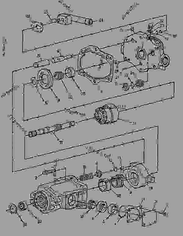 Parts scheme 1G8112 PUMP GROUP-GEAR  -CLUTCH - COLD PLANER Caterpillar PM-565 - PM-565 Cold Planer 3TK00001-00112 (MACHINE) POWERED BY 3408 Engine HYDRAULIC SYSTEM | 777parts