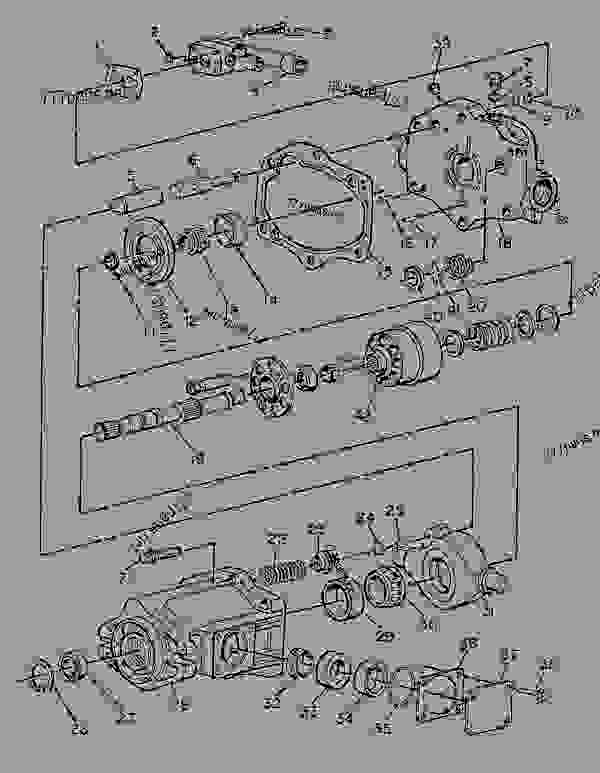 Parts scheme 1260980 PUMP GROUP-PISTON   - CHALLENGER Caterpillar 85D - Challenger 85D Agricultural Tractor 4GR00001-UP (MACHINE) POWERED BY 3196 Engine HYDRAULIC SYSTEM | 777parts