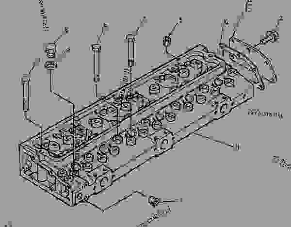 Parts scheme 2210321 CYLINDER BLOCK GROUP   - ENGINE - GENERATOR SET Caterpillar 3056 - 3056 Generator Set Engine 7AK00001-UP BASIC ENGINE | 777parts