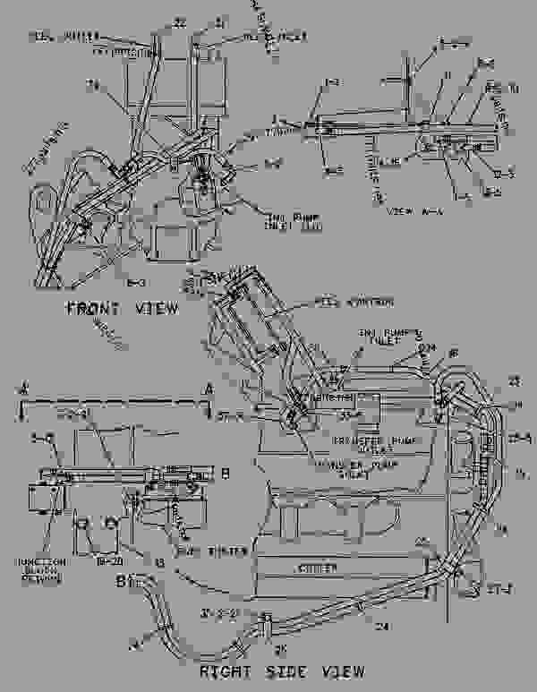 Parts scheme 4P8482 LEVER GROUP-GOVERNOR CONTROL   - ENGINE - GENERATOR SET Caterpillar 3412C - 3412C Generator Set BAK00001-UP FUEL SYSTEM | 777parts