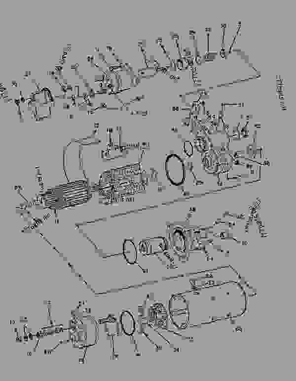 Parts scheme 6V5795 STARTING MOTOR GROUP   - ENGINE - GENERATOR SET Caterpillar 3306 - 3306 Generator Set 85Z00001-03763 ELECTRICAL AND STARTING SYSTEM | 777parts