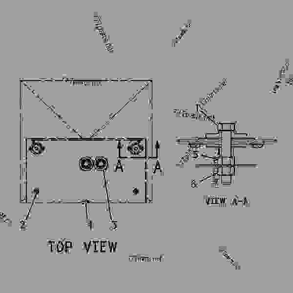 Parts scheme 7W0919 MOUNTING GROUP-CONTROL PANEL   - ENGINE - GENERATOR SET Caterpillar 3306B - 3306 Generator Set Engine 5JC00001-UP OPERATOR STATION | 777parts