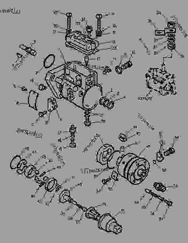 bobcat 743 engine diagram