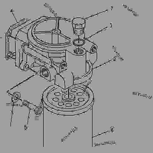 3208 cat fuel system diagram