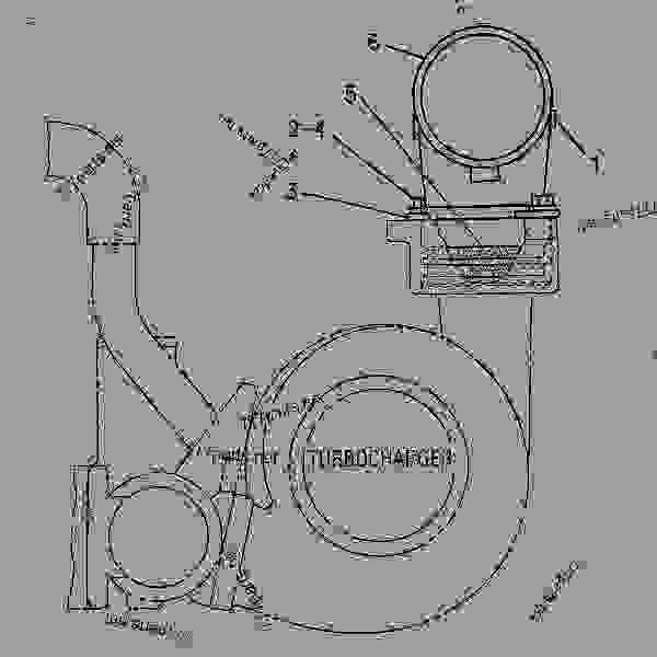 Parts scheme 1326237 DUST EJECTOR GROUP   - EARTHMOVING COMPACTOR Caterpillar 836G - 836G Landfill Compactor 3456 Engine 7MZ00001-UP (MACHINE) AIR INLET AND EXHAUST SYSTEM | 777parts