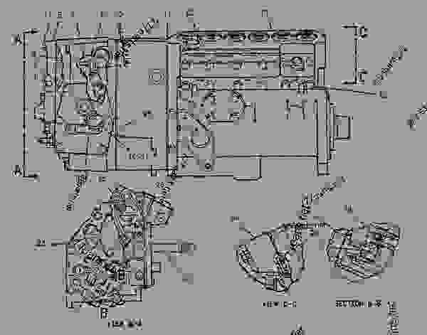 Parts scheme 7C9201 PUMP GROUP-GOV & FUEL INJ GOVERNOR & FUEL INJECTION PUMP GP - ENGINE - GENERATOR SET Caterpillar 3306B - 3306B Generator Set 9NR00001-UP FUEL SYSTEM | 777parts