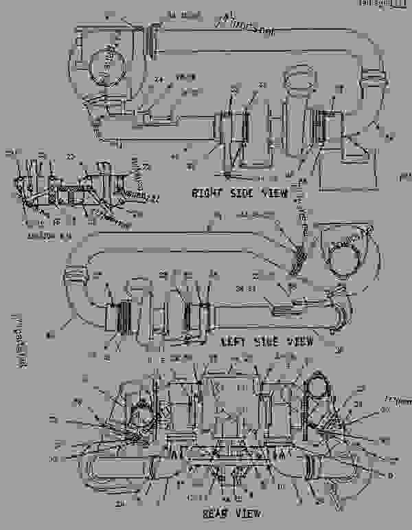 Parts scheme 1455567 FITTING GROUP-EXHAUST   - ENGINE - GENERATOR SET Caterpillar 3412 - 3412C Generator Set TGC00001-UP AIR INLET AND EXHAUST SYSTEM | 777parts
