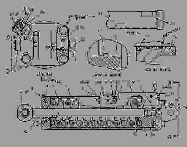 Parts scheme 6E1428 CYLINDER GROUP   - CHALLENGER Caterpillar 85D - Challenger 85D Agricultural Tractor 4GR00001-UP (MACHINE) POWERED BY 3196 Engine HYDRAULIC SYSTEM | 777parts