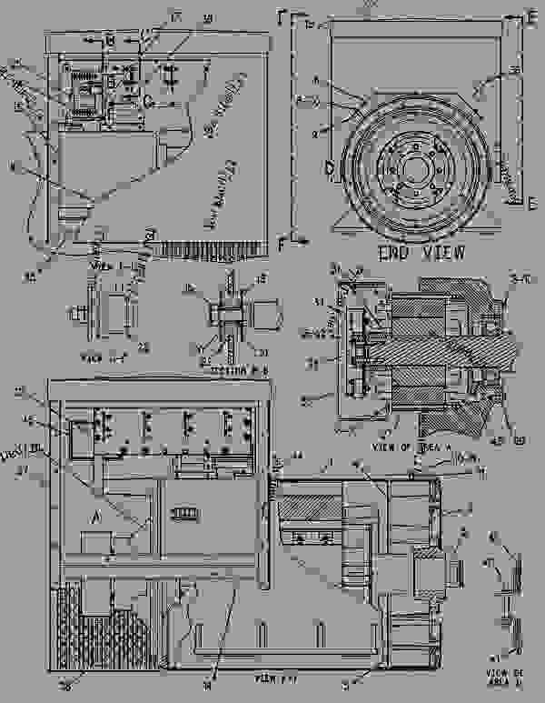Parts scheme 2071783 GENERATOR AR   - ENGINE - GENERATOR SET Caterpillar 3412 - 3412 Generator Set Engine 2WJ00001-UP GENERATORS | 777parts