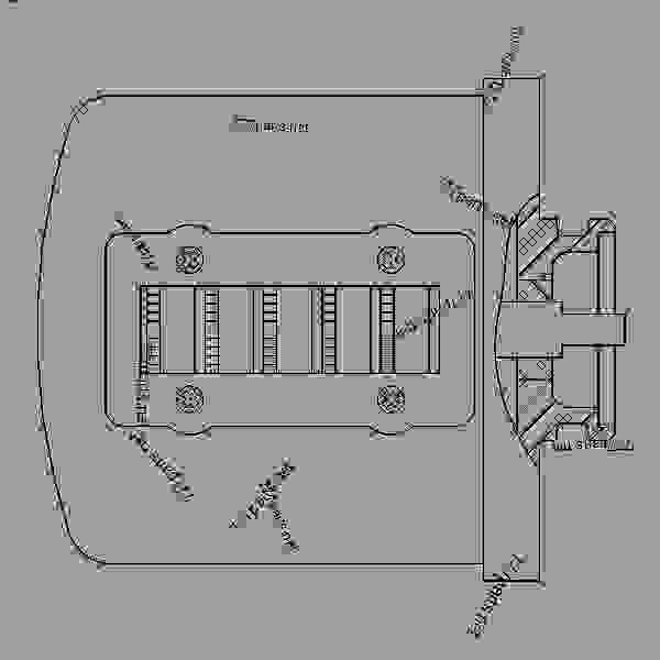 Parts scheme 1214716 MODULE GROUP-ALARM   - ENGINE - GENERATOR SET Caterpillar 3306B - 3306B Generator Set B8D00001-UP OPERATOR STATION | 777parts