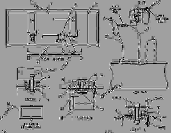 Parts scheme 1524655 TANK & BASE AS-FUEL   - ENGINE - GENERATOR SET Caterpillar 3306B - 3306B Generator Set 9NR00001-UP FUEL SYSTEM | 777parts