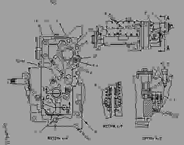 Parts scheme 1313530 PUMP GROUP-GOV & FUEL INJ   - ENGINE - GENERATOR SET Caterpillar 3406C - 3406C Generator Set 1LS00001-UP FUEL SYSTEM | 777parts