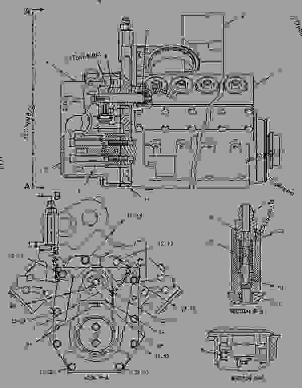 Parts scheme 1458855 PUMP GROUP-FUEL PRIMING   - ENGINE - GENERATOR SET Caterpillar 3412C - 3412C Generator Set BAK00001-UP FUEL SYSTEM | 777parts