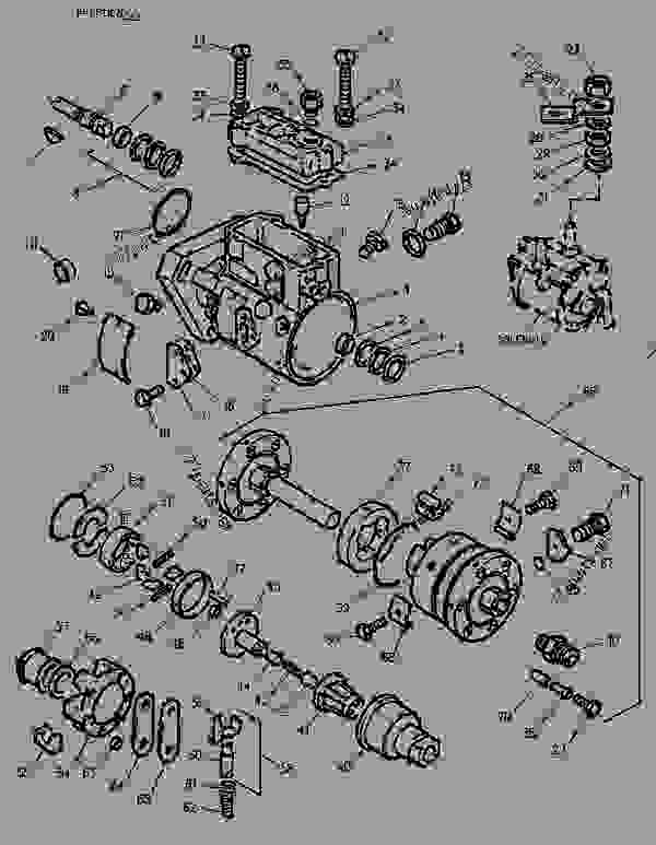 Parts scheme 1089623 PUMP GROUP-FUEL INJECTION   - ENGINE - GENERATOR SET Caterpillar 3054 - 3054 Generator Set Engine 4ZK00001-UP FUEL SYSTEM | 777parts