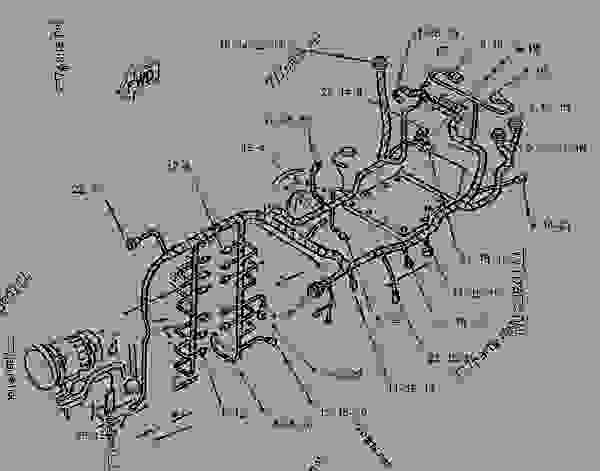 Parts scheme 1081913 HARNESS AS-REAR   - CHALLENGER Caterpillar 35 - Challenger 35 and Challenger 45 Agricultural Tractors 8DN00001-00849 (MACHINE) POWERED BY 3116 Engine ELECTRICAL AND STARTING SYSTEM | 777parts