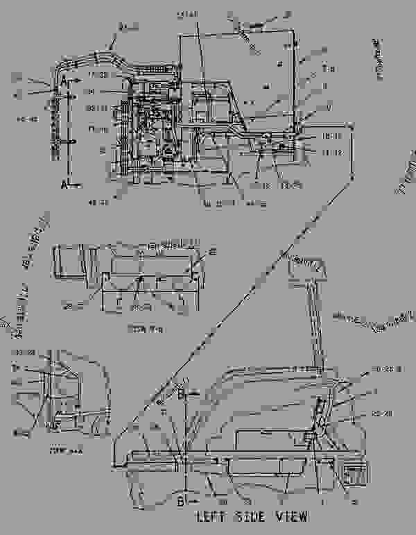 Parts scheme 1249461 TANK GROUP-FUEL   - CHALLENGER Caterpillar 55 - Challenger 55 Agricultural Tractor 7DM00001-00849 (MACHINE) POWERED BY 3126 Engine FUEL SYSTEM | 777parts
