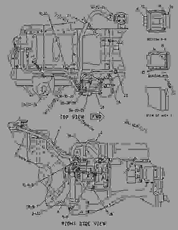 Parts scheme 1081916 HYDRAULIC AR   - CHALLENGER Caterpillar 55 - Challenger 55 Agricultural Tractor 7DM00001-00849 (MACHINE) POWERED BY 3126 Engine HYDRAULIC SYSTEM | 777parts