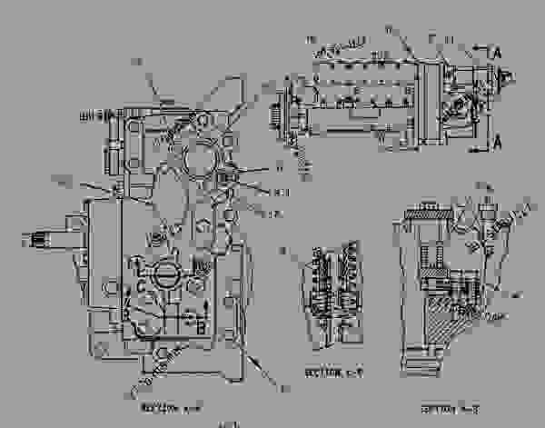 Parts scheme 1350738 PUMP GROUP-GOV & FUEL INJ   - ENGINE - GENERATOR SET Caterpillar 3406C - 3406C Generator Set 1LS00001-UP FUEL SYSTEM | 777parts